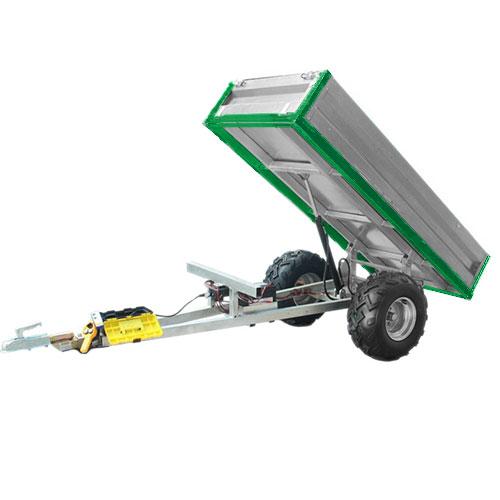 Hydraulischer Kippanhänger (600 kg Tragfähigkeit)