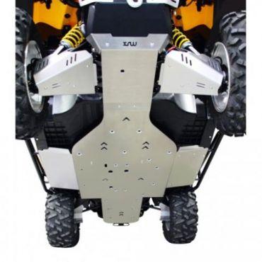 Full Skid Plate Unterfahrschutz Aluminium - CAN-AM Commander 1000XT/800R