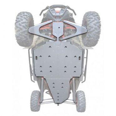FULL Skid Plate Unterfahrschutz Aluminium - CAN AM MAVERICK X3 XRS