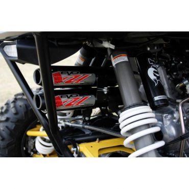 BIG GUN Yamaha YXZ 1000R Doppelschalldämpfer/Dreifachkrümmer