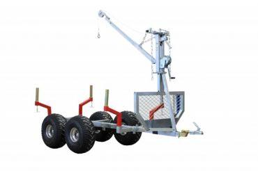 "ATV Holztransporter ""ECO 700"" + Kran"
