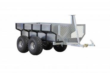 ATV Holzanhänger + Transportcontainer