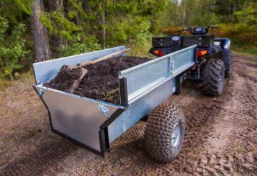ATV/Quad/Traktor Kippanhänger