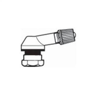 Alu Reifenventile  Ø8,5mm Schwarz 10 Stück