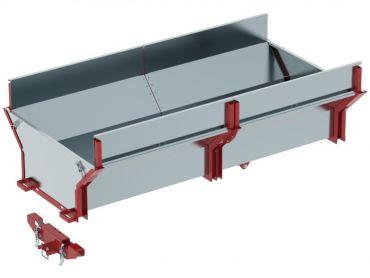 Ladecontainer für ATV Holztransporter