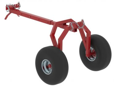 ATV Heckstütze für Baumstammtransporter