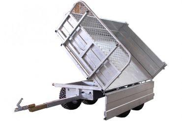 Kippanhänger - 1500 kg Tragfähigkeit mit einer 3-Wege-Kippoption