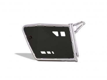 A.R.T SSV-Seitenverkleidung Aluminiumrahmen/schwarze PHD-Platte, Satz Polaris RZR800/S