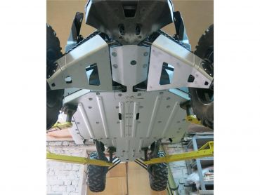 RIVAL Full Skid Plate Unterfahrschutz Aluminium Can-Am Maverick X3 XDS/XRS