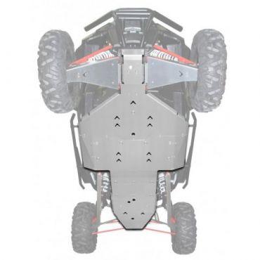 Full Skid Plate Unterfahrschutz Aluminium - RZR Turbo 2017