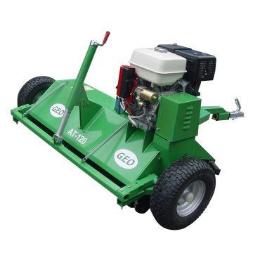 ATV 120 Schlegelmulcher mit 13PS-Dieselmotor