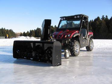 """Schneefräse für ATV, Quad mit 66"""" (167 CM) 22HP HONDA ENGINE"""