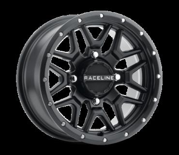 Raceline - SIMULATED BEADLOCK KRANK 14X7 4/156 BRONZE ATV Felge