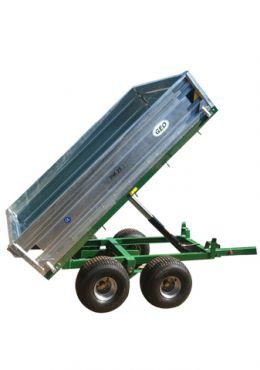 Hydraulischer Kippanhänger - 2500kg Zuladung