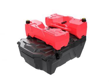 UTV / SXS Koffer (Hintern) passend für Polaris RZR 1000