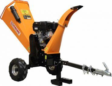 Holzhäcksler mit 14 PS Briggs & Stratton Motor